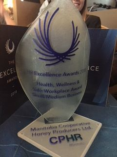 BeeMaid Honey Wins Award for Excellence in Health, Wellness and Safety
